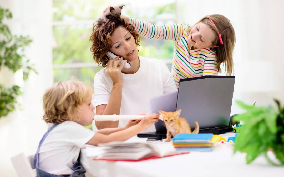Top 6 tips for working at home with kids